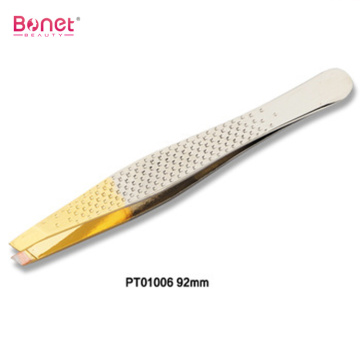 Fashion Gold Plated Tip Stainless Steel Tweezers
