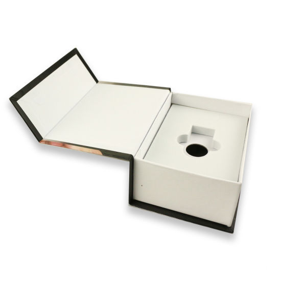 Rigid USB Packaging Rigid Book Box with Magnet