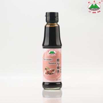 Teriyaki Sauce 150ml Glass Table Bottle