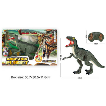 DINOSAUR ISLAND TOYS R/C DINOSAUR , WITH SOUND AND LIGHT