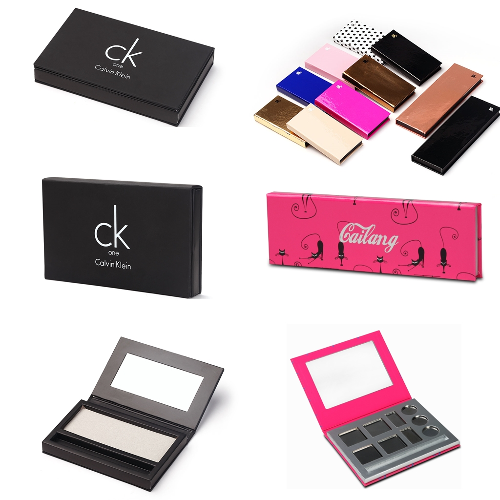 eye shadow cardboard box