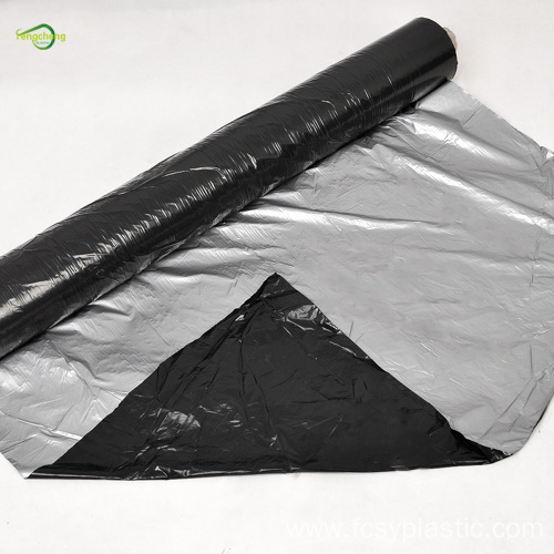 Black pe mulch film with customized holes