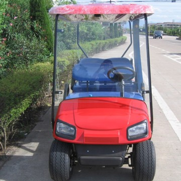 4 seaters gas golf carts with ce