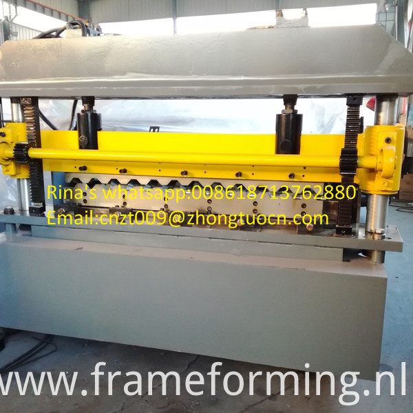high quality roofing sheet roll forming machine 7