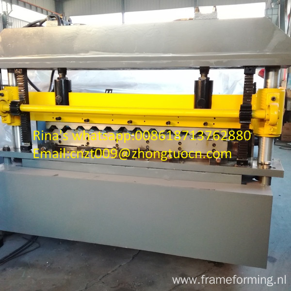 hydraulic roof sheet roll forming machine