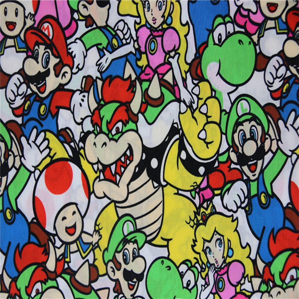 Super Mary Print Fabric