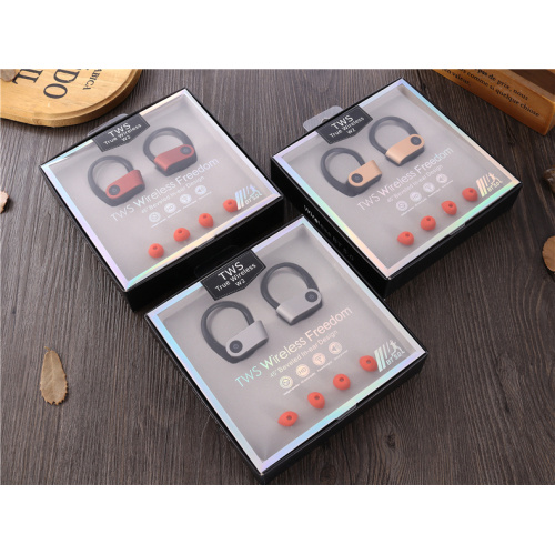 Adjustable Anti-skid Earhook TWS Headsets