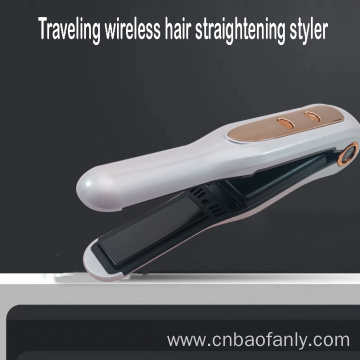 capacity wireless hair curling iron