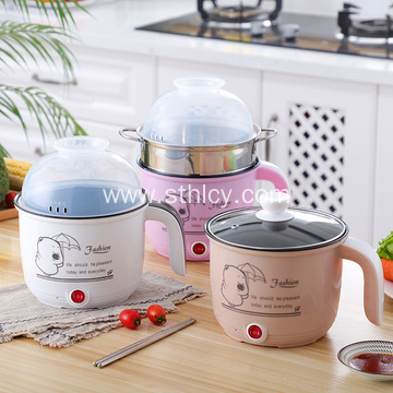 Multi-functional Mini Power Electric Stainless Steel Pot