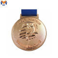 Custom 3D swimming race medal