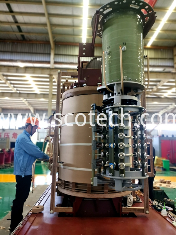 on load tap changer for transformer