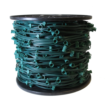 C9 Spool Light String 1000' Green Cable