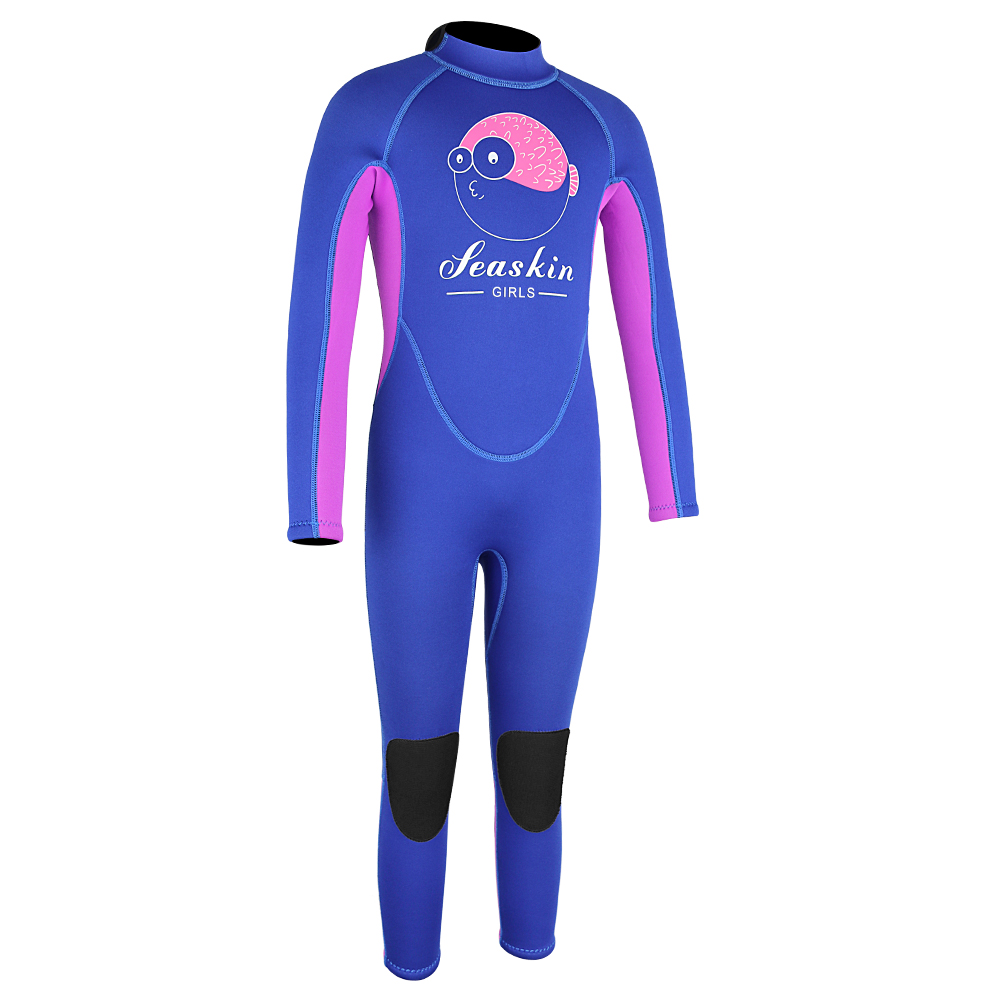 Seaskin Childrens Back Zip Wetsuit