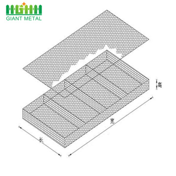 Real factory gabion baskets mesh  box
