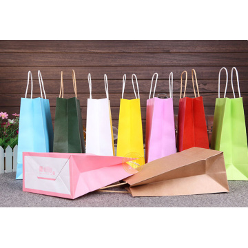 Custom Fashion Paper Shopping Bags