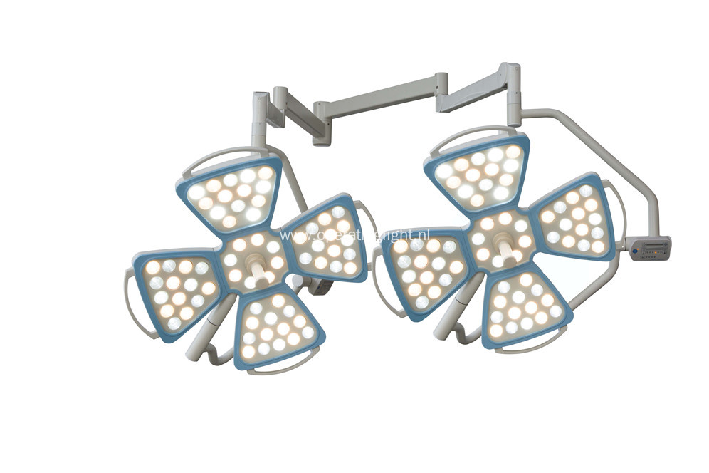 LED operating shadowless flower lamp