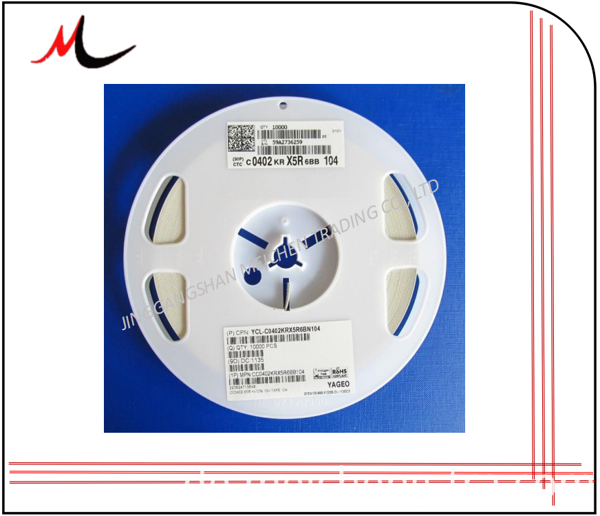 0402 105K SMD Capacitor