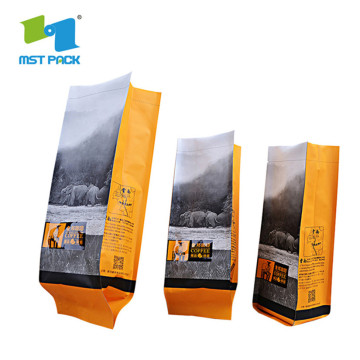 Digital Printing Pouches Instant Side Gusset Coffee Bags