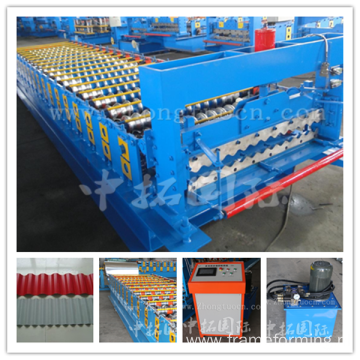 Corrugated Color Roof Roll Forming Machine