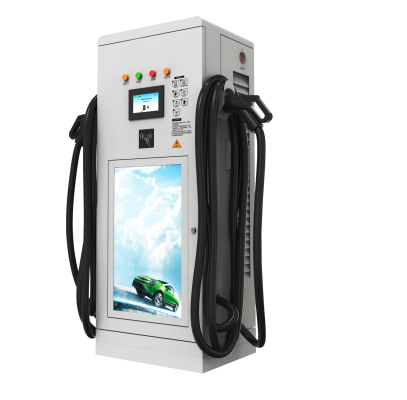 80KW DC single shot screen swipe car charger