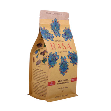 Factory Price 250g Ziplock Roasted Coffee Bag