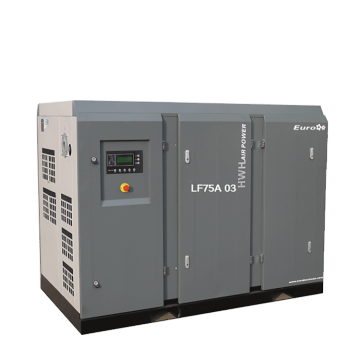 75kw low pressure direct driven screw air compressor