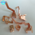 custom copper stamping contact small precision stamping part