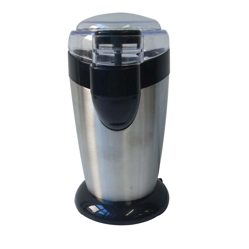 electric stainless steel coffee bean crusher burr mill