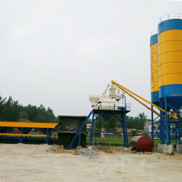 Construction control system mini mix concrete batching plant