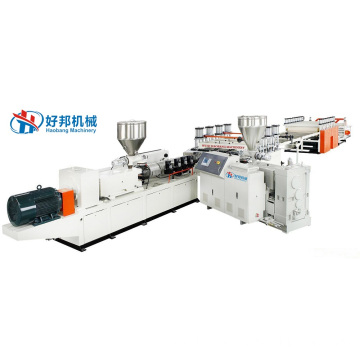 PVC Co-extrusion Foam Sheet Extrusion Line