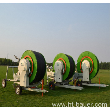 extraordinarily low pressure hose reel irrigation