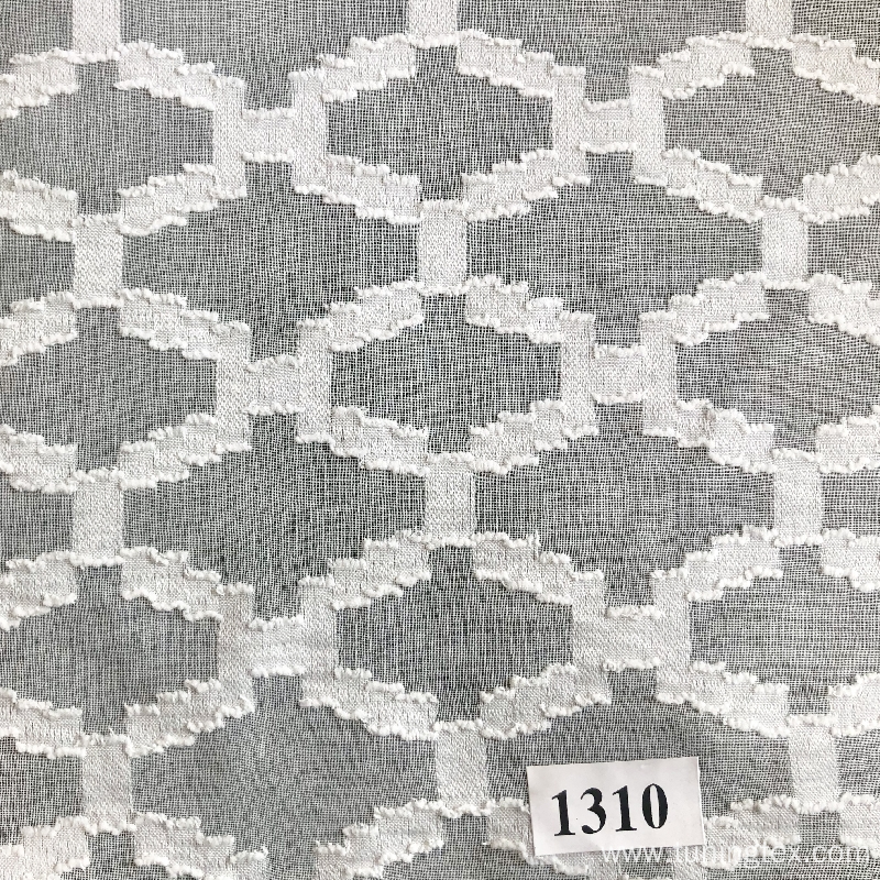 Polyester Jacquard Fabric With Geometric Design