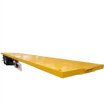 African Hot Sale 3 Axles Lowboy Flatbed