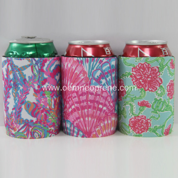 Personalized 5mm sublimation can coolers with base