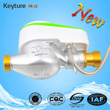 Direct Reading Remote Valve Control Water Meter Green
