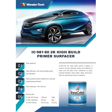 InnoColor Automotive Paint  2K Primer Surfacer
