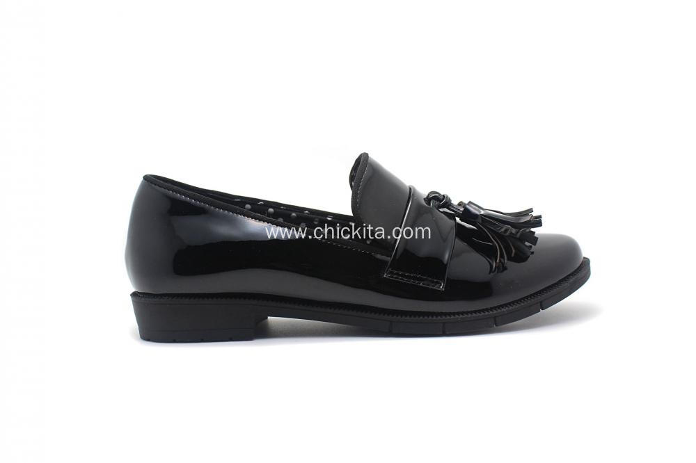 Classic Tassel Loafer Pump Shoes