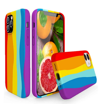 Rainbow Soft Full Shockproof Silicone Phone Case