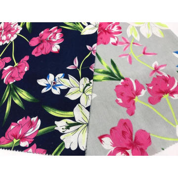 Cotton-Linen Plain Printed Fabric