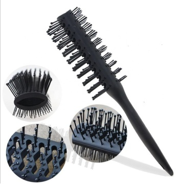 Oil Head Hair Fine Massage Combs Brushes Men's Anti-static Hair Brush Comb Retro Style Fluffy Hairdressing Scalp Massager Tool