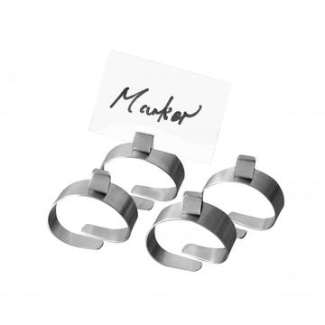 4pcs napkin ring set