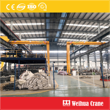 Semi gantry crane 5t
