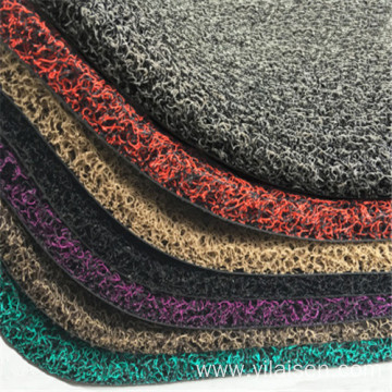 Pvc floor covering car mats dedicated coil