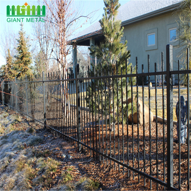 High Quality Factory Safety Steel Fence Gates