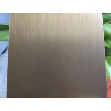 304 Antique Copper Stainless Steel Sheet