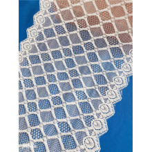 Nylon Spandex Stretch Wide Lace Fabric for Lingerie