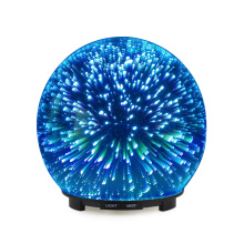 New Design Round 3D Glass Essential Oil Diffuser