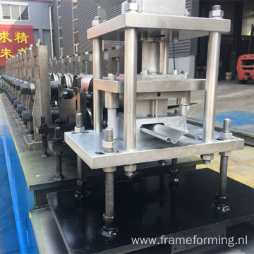 Metal rolling shutter strip making machine