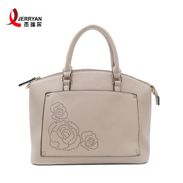 Designer PU Leather Tote Bags with Zipper