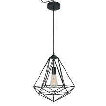 Geometric Iron Wire Nodic Simple Pendant Lamp